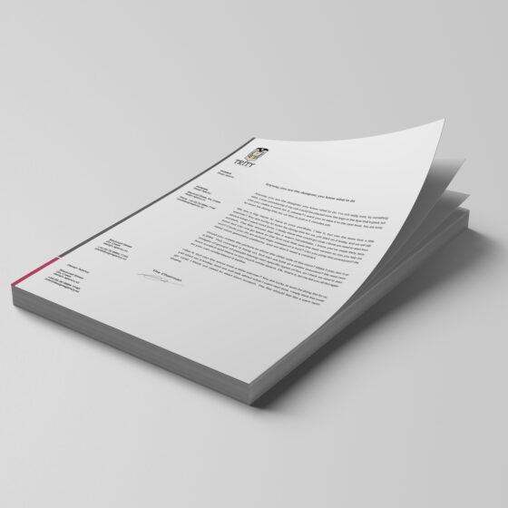 antetli kağıt tasarım hizmetleri